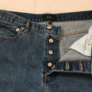A.P.C. Petit New Standard Blue Jeans 31 Men's